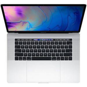 """Vente PC Portable MacBook Pro 15,4"""" Retina avec Touch Bar - Intel Core i7 - RAM 16Go - 512Go - Argent pas cher"""