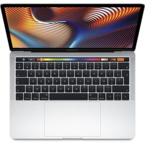 """Top achat PC Portable MacBook Pro 13,3"""" Retina avec Touch Bar - Intel Core i5 - RAM 8Go - 256Go - Argent pas cher"""