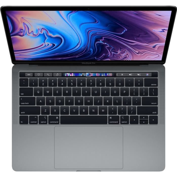 MacBook APPLE NEW MACBOOK PRO TOUCH BAR 256 GO GRIS SIDERAL (MR9Q2FN/A)