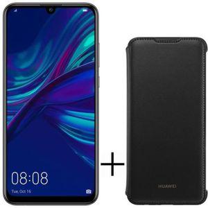 SMARTPHONE HUAWEI P Smart 2019 Noir 64 Go  + Flip cover noir