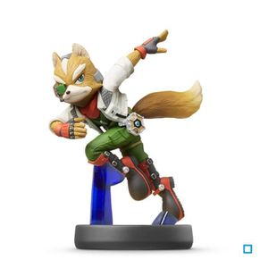 FIGURINE DE JEU Figurine Amiibo Fox Collection Super Smash Bros N°