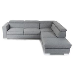 Canape panoramique gris achat vente canape panoramique for Canape payable en 4 fois