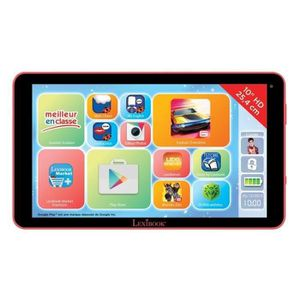 JEU CONSOLE EDUCATIVE LEXIBOOK Tablette Enfant Fluo XL Premium 10""