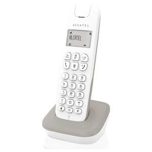 Téléphone fixe Alcatel D185 Gris