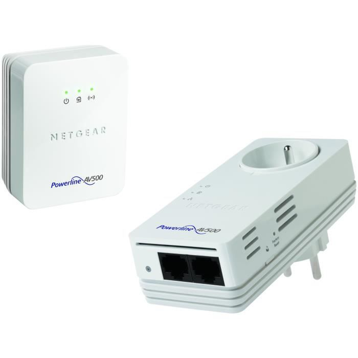 netgear cpl wifi cpl 500mbps et prise xwnb5602 prix pas cher cdiscount. Black Bedroom Furniture Sets. Home Design Ideas