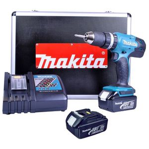 makita pro perceuse a percussion 18v 3ah. Black Bedroom Furniture Sets. Home Design Ideas