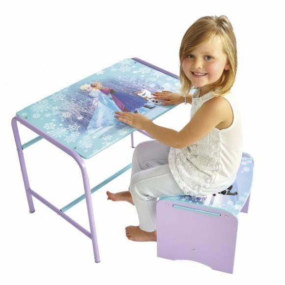 la reine des neiges bureau enfant et tabouret worlds appart achat vente bureau b b. Black Bedroom Furniture Sets. Home Design Ideas