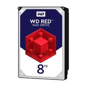 DISQUE DUR INTERNE WESTERN DIGITAL Disque dur interne Red 8To 128Mo 3