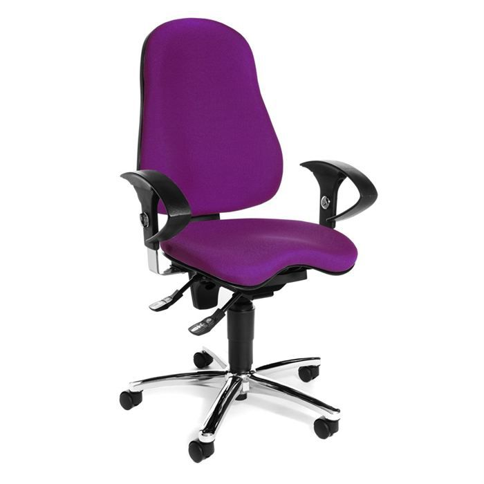Chaise de bureau sitness 10 violet achat vente chaise for Chaises de bureau but