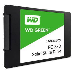 DISQUE DUR SSD Western Digital SSD Green WDS120G1G0A - 120 Go - 2