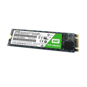 DISQUE DUR SSD Western Digital SSD Green WDS120G1G0B - 120 Go - M