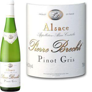 VIN BLANC Brecht Pinot Gris Réserve Alsace 2010