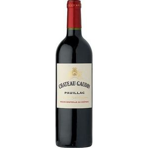 VIN ROUGE Château Gaudini 2012 Pauillac - Vin rouge de Borde