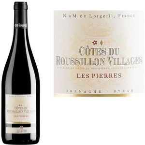 VIN ROUGE Les Pierres 2013 Côtes du Roussillon Villages - Vi