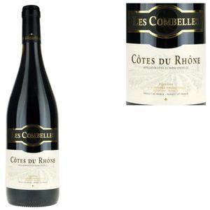 VIN ROUGE Les Combelles 2013 Côtes du Rhône - Vin rouge des