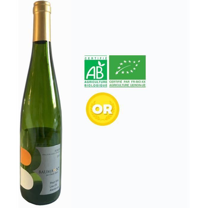 VIN BLANC DOMAINE BAUMANN 2013 Pinot gris lieu dit Altenbour