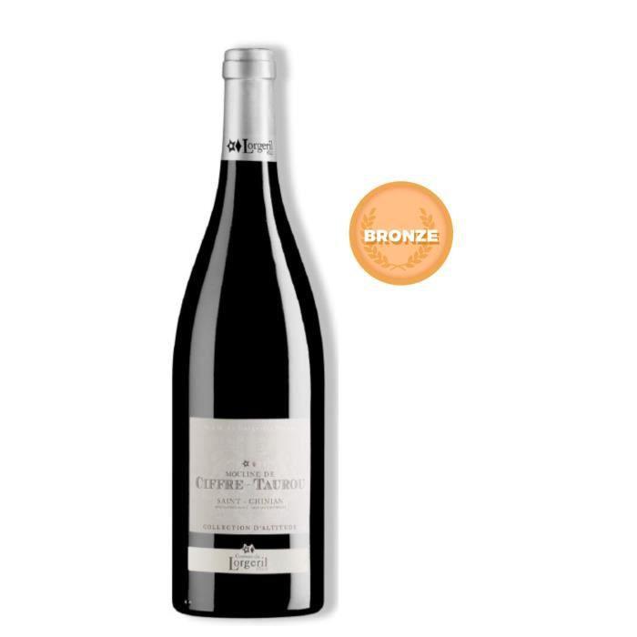 VIN ROUGE Moulin Ciffre Taurou 2013 Saint-Chinian Vin rouge