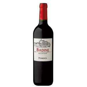 VIN ROUGE Badine de la Patache 2014 Pomerol - Vin rouge de B