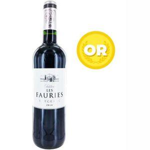 VIN ROUGE Château les Fauries 2014  Bergerac - Vin rouge du