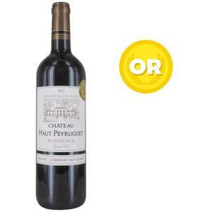 VIN ROUGE Château Haut Peyruguet 2014  Bordeaux Supérieur -
