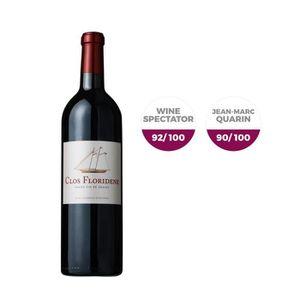 VIN ROUGE Clos Floridence 2015 Graves - Vin rouge de Bordeau