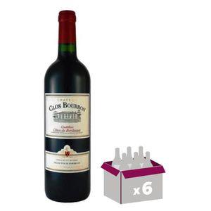 VIN ROUGE Château Clos Bourbon 2015 Cadillac Côtes de Bordea