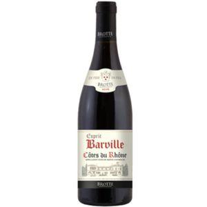 VIN ROUGE Barvill 2016 Côtes du Rhône - Vin rouge des Côtes