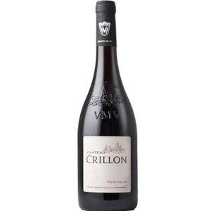 VIN ROUGE Château Crillon 2016 Ventoux - Vin rouge des Côtes
