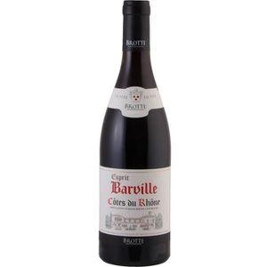 VIN ROUGE Barvill 2017 Côtes du Rhône - Vin rouge des Côtes