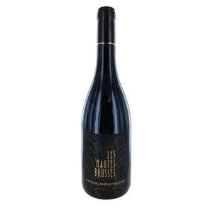 VIN ROUGE Les Hautes Brusses 2017 Côtes du Rhône Village Vin