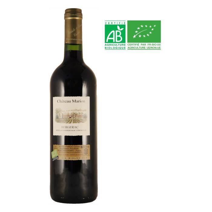 VIN ROUGE Château Marion 2018 Bergerac - Vin rouge du Sud-Ou