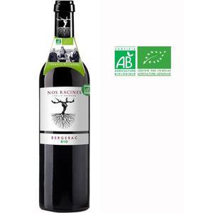 VIN ROUGE Nos Racines 2019 Bergerac - Vin rouge du Sud Ouest
