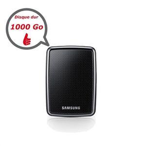 DISQUE DUR EXTERNE Samsung HX-MT010EA/G22 1000 Go Noir Piano