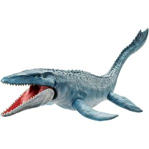 FIGURINE - PERSONNAGE JURASSIC WORLD Figurine dinosaure Mosasaurus 70 cm