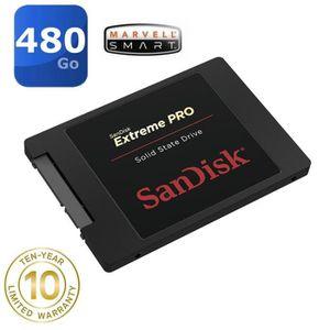 DISQUE DUR SSD SanDisk 480 Go SSD Extreme PRO    SDSSDXPS-480G-G2