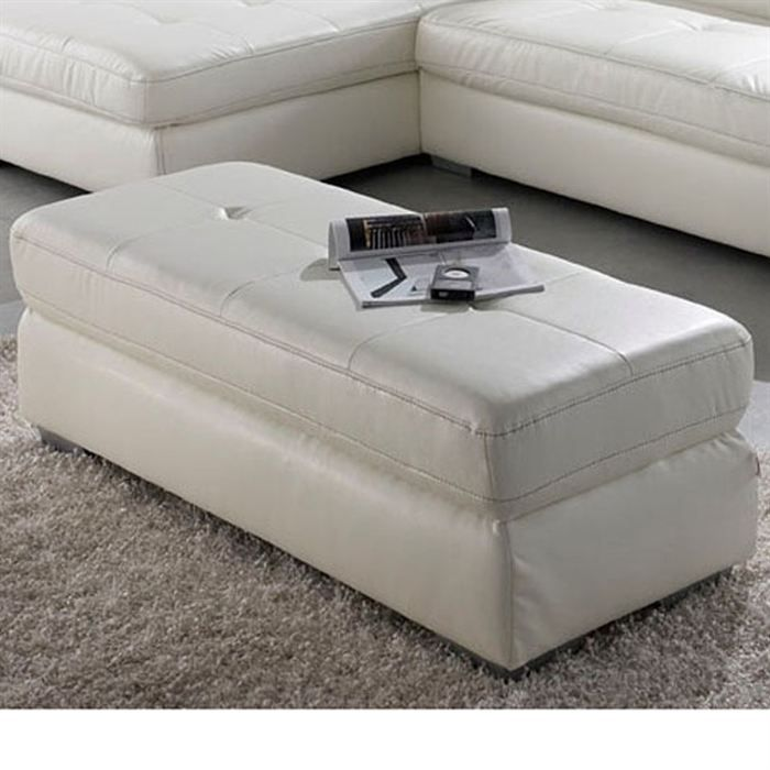 calgary grand pouf droit 2 places simili blanc achat vente pouf poire pu simili cdiscount. Black Bedroom Furniture Sets. Home Design Ideas