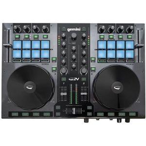 TABLE DE MIXAGE GEMINI G2V Contrôleur DJ USB MIDI 2 voies