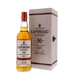 WHISKY BOURBON SCOTCH Whisky Laphroaig 30 ans d'âge Single Malt d'Islay