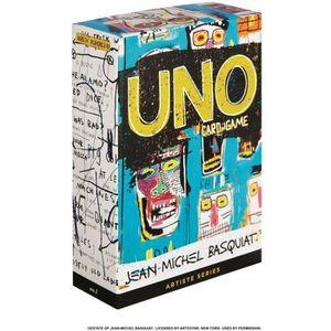 JEU D'APPRENTISSAGE Mattel Games - UNO BASQUIAT ARTISTE - Jeu de Carte
