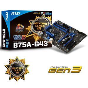 CARTE MÈRE MSI B75A-G43