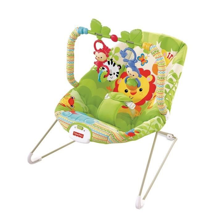 fisher price transat amis de la jungle achat vente transat balancelle 0746775283339