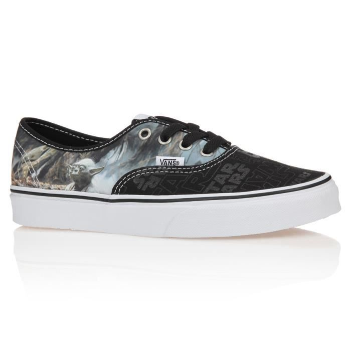 Vans Baskets Star Wars Authentic Enfant Mixte Femme 3641 Noir Et
