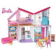 BARBIE La Maison à Malibu repliable pour poupées,