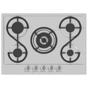 PLAQUE GAZ HUDSON HTG 5 I - Table de cuisson gaz - 5 foyers -