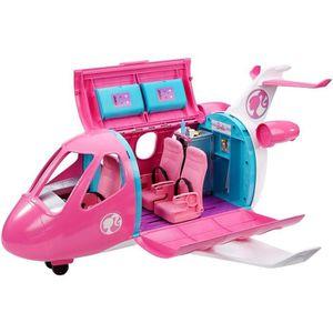 ACCESSOIRE POUPÉE BARBIE - L'Avion de Rêve de Barbie - Rangement, mo