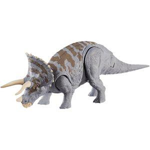 FIGURINE - PERSONNAGE JURASSIC WORLD Coffret Double Attaque Triceratops