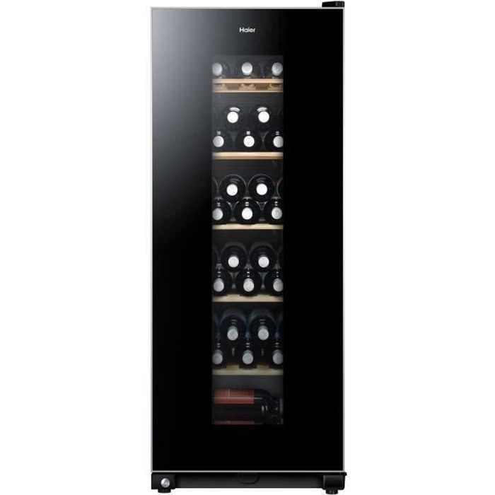 haier ws59gae cave vin de conservation 59 bouteilles pose libre classe a l 50 x h. Black Bedroom Furniture Sets. Home Design Ideas