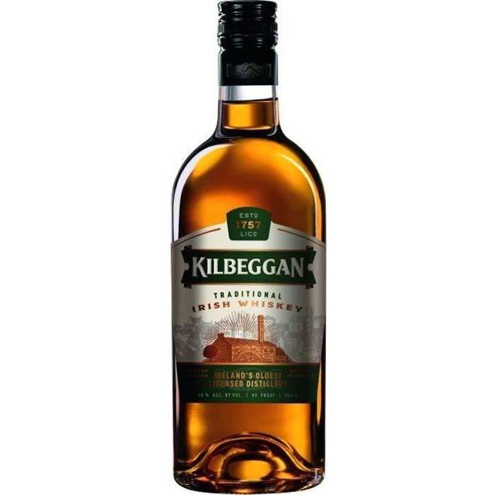 WHISKY BOURBON SCOTCH Kilbeggan 70cl