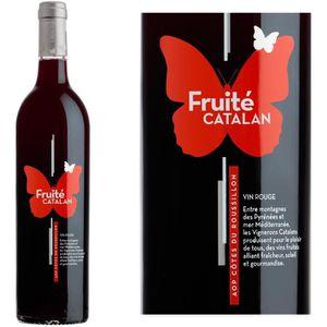 VIN ROUGE Fruité Catalan AOP Côtes du Roussillon - Vin rouge