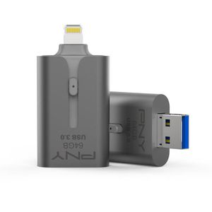 CLÉ USB PNY Clé USB - APPLE - 64Go - USB 3.0 - Pour iPhone